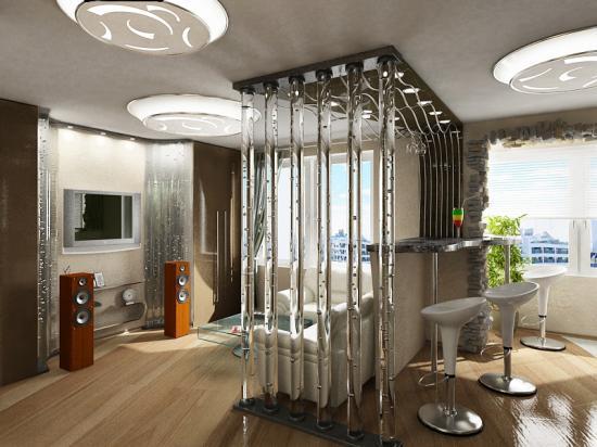 Дизайн однокомнатной хрущевки: квартира 40 квм на фото